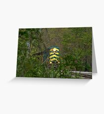 Road to Anthracite  Greeting Card