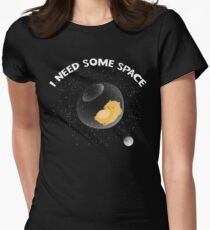 Hamster I Need Some Space Womens Fitted T-Shirt