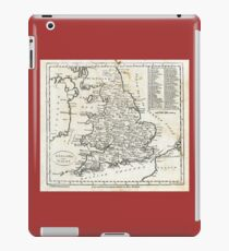 c1810 Map of England And Wales iPad Case/Skin