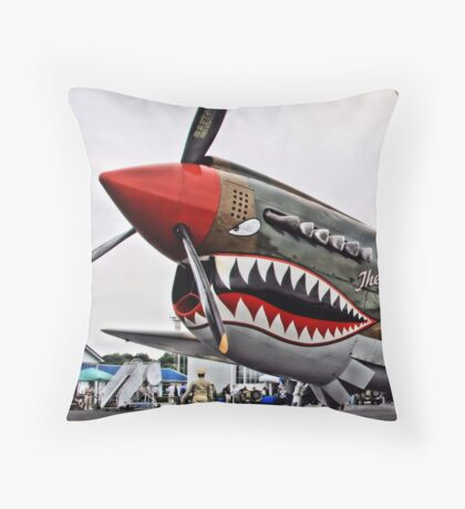 The Jacky C Throw Pillow