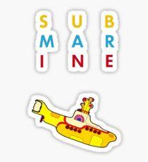 Submarine Sticker