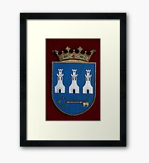 The Man with the Key is King, and Honey, You Should See Me in a Crown Framed Print