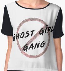 Ghost Girl Gang Women's Chiffon Top