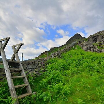 The Lake District: Yewbarrow - A Fell With 'Stile' by rob3003
