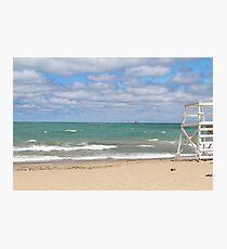 Oak Street Beach Photographic Print