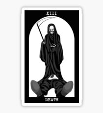 Death Tarot Sticker
