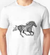 Tribal Running Horse Unisex T-Shirt