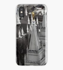 SLC LDS Temple From Above iPhone Case/Skin