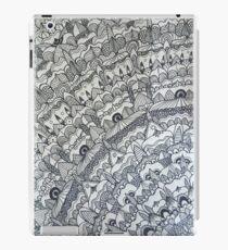 Brown Paper Mandala iPad Case/Skin