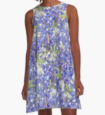 Texas Flowers A-Line Dress