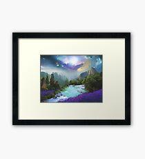 Fantasy world Framed Print
