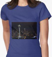 Seattle Skyline After Dark T-Shirt