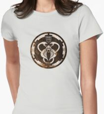 The Ultimate 80's Evil (distressed) Women's Fitted T-Shirt