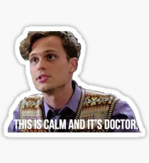 Dr. Spencer Reid--This is Calm and it's Doctor Sticker