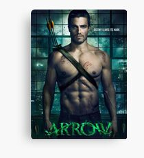 Arrow TV Series Canvas Print