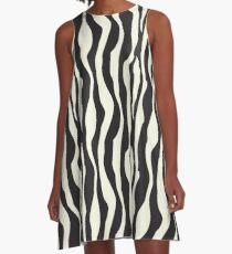 Look like a zebra A-Line Dress