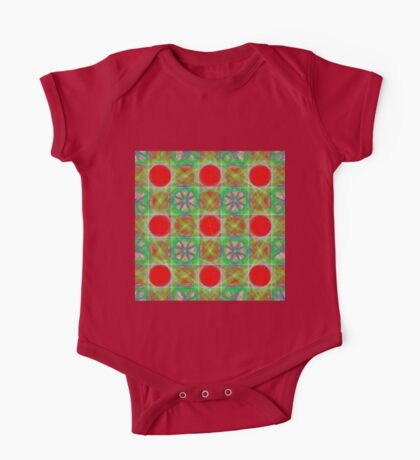 Nine Red Button Planets Kids Clothes