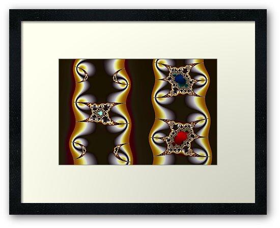 Cubics Mandelbrot and Crescents by Mark Eggleston