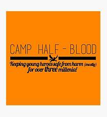 Camp Half-Blood  Photographic Print