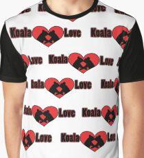 Koala Love #2 Pattern  Graphic T-Shirt