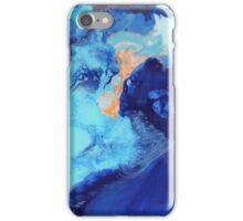Birds Eye View - Abstract Acrylic Fluid Painting  iPhone Case/Skin
