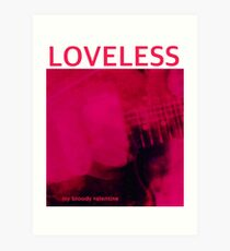 Mein Bloody Valentine Loveless Kunstdruck