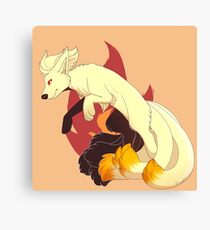 Ninetails - Pokemon Canvas Print