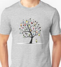 Yoga practice, tree concept T-Shirt