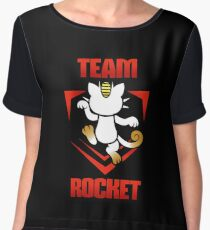 Pokemon Go - Team Rocket! Women's Chiffon Top