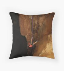 My Very First Rappel Throw Pillow