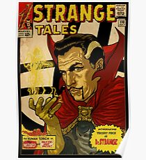 VINCENT PRICE AS DR. STRANGE- RETRO COMIC COVER Poster