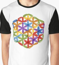 Flower of Life, sketch Graphic T-Shirt