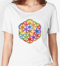 Flower of Life, sketch Women's Relaxed Fit T-Shirt