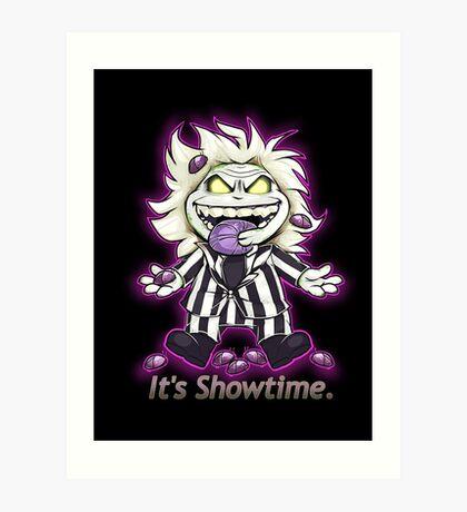 It's Showtime! Art Print