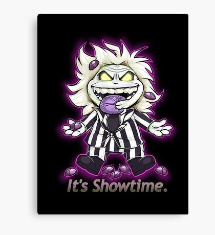 It's Showtime! Canvas Print