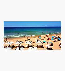 summer 2016. Lisbon Photographic Print