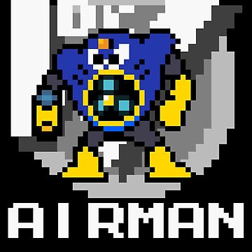 Airman with text (White) by Funkymunkey