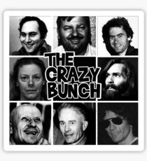 The Crazy Bunch Sticker