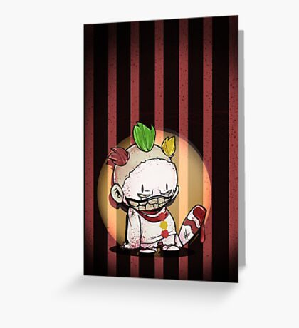FREAKSHOW Greeting Card