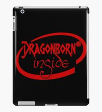 Dragonborn Inside iPad Case/Skin