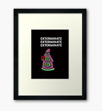 Exterminate/ day of tentacle Framed Print