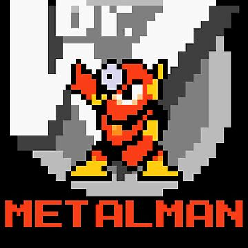 Metalman with text (Red) by Funkymunkey