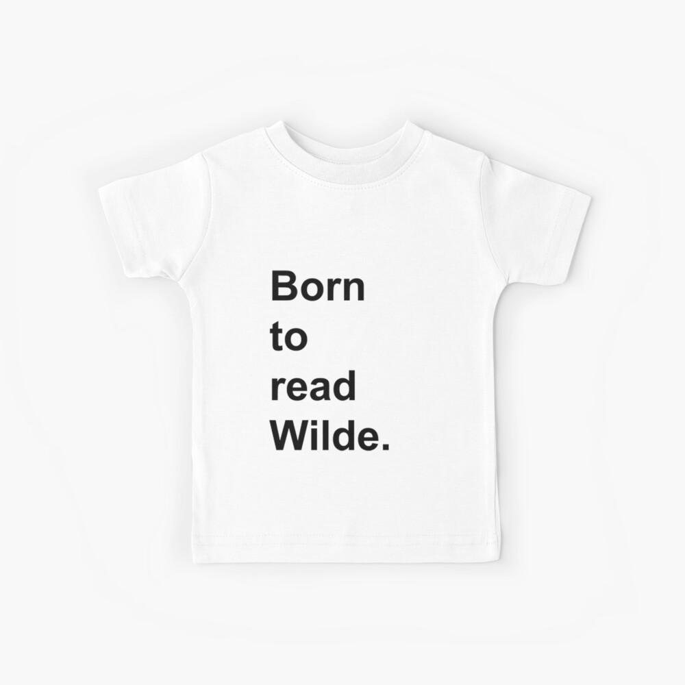 Born to Read Wilde Kids T-Shirt