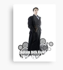 Captain Jack Harkness : Who are you ? Metal Print