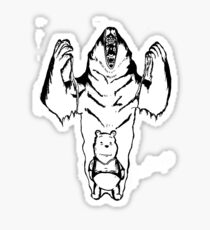Winnie the Pooh inner Bear  Sticker