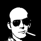 Hunter S Thompson - Smoking by Tim Topping