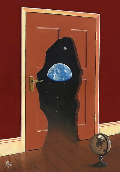 Beyond Magritte's Door by Mark A. Garlick