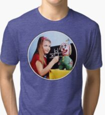 TV Testcard Tri-blend T-Shirt