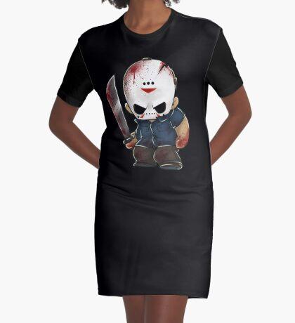 Jason Vorhees Graphic T-Shirt Dress