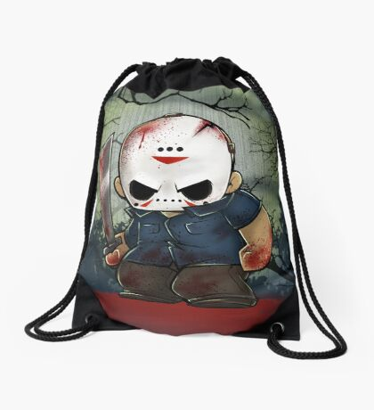 Jason Vorhees Drawstring Bag